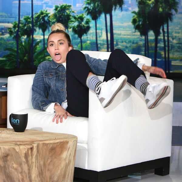 Miley Cyrus, The Ellen DeGeneres Show