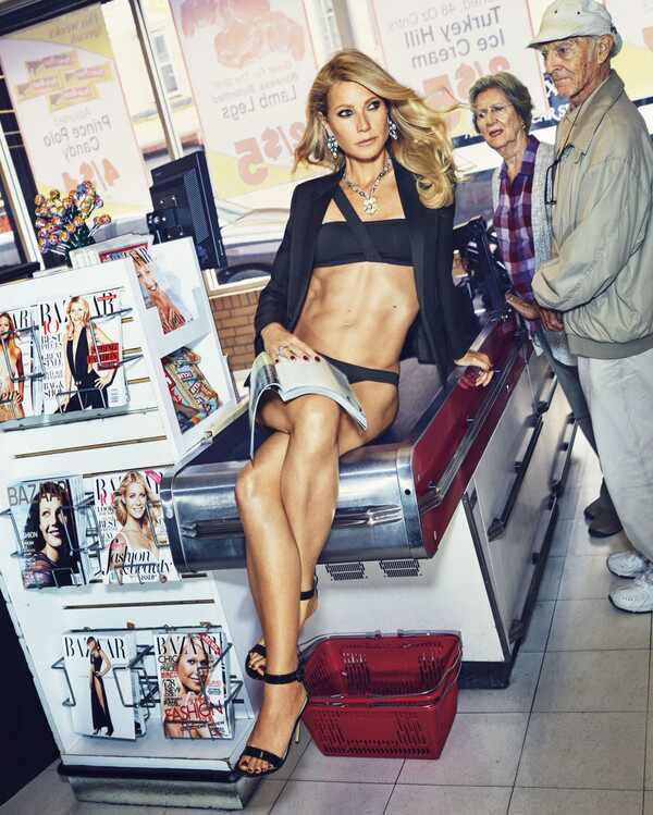Gwyneth Paltrow, Harper?s Bazaar