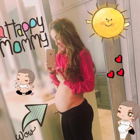 Anahí revela nome e sexo de seu primeiro filho