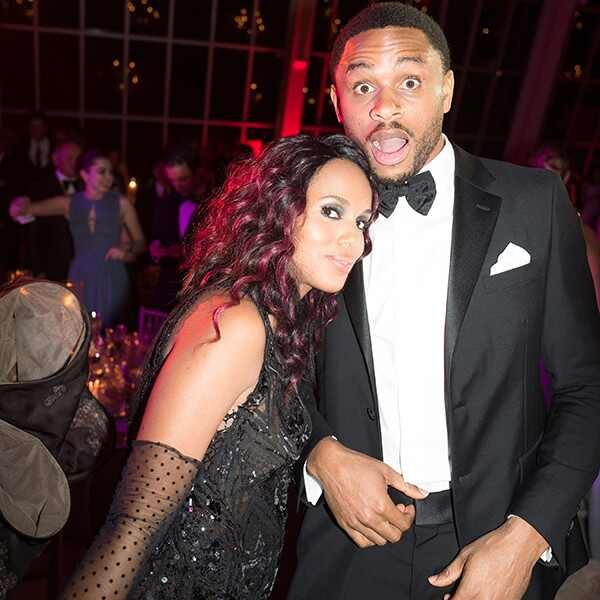 Kerry Washington, Nnamdi Asomugha, MET Gala 2016, Inside Party Pics, Exclusive