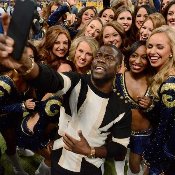 Kevin Hart, Celebrity Rams Fans
