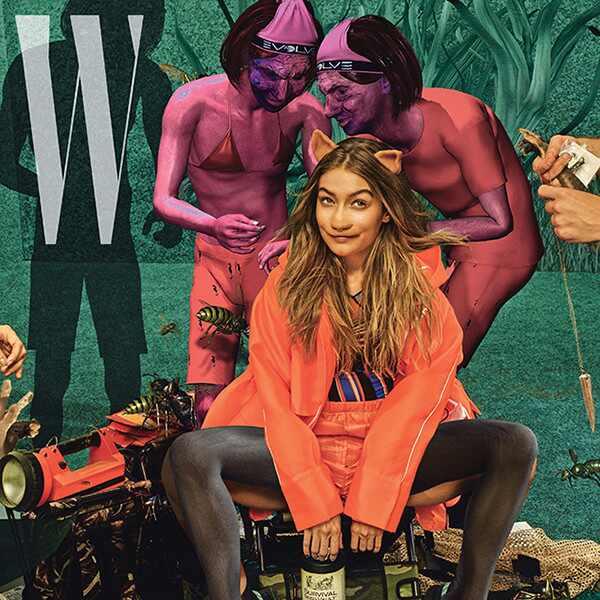 Kendall Jenner, Gigi Hadid, W Magazine
