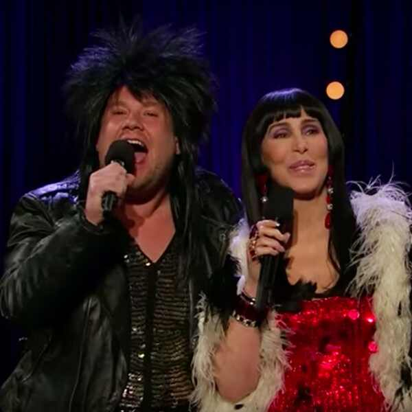 James Corden, Cher, The Late Late Show