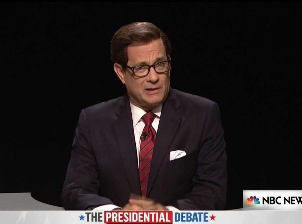 Tom Hanks, Saturday Night Live, 3rd Debate, Chris Wallace