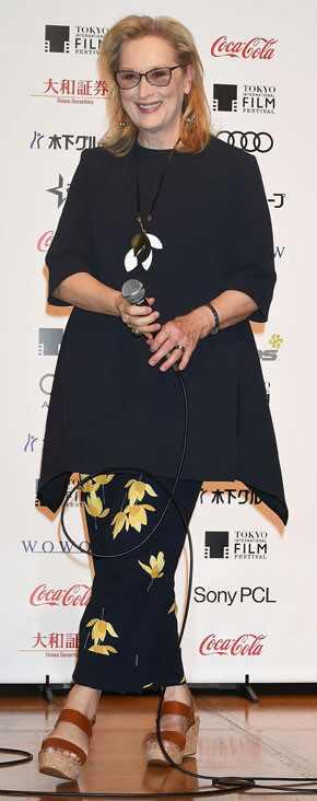 Meryl Streep es la primera ganadora de la temporada de premios 2017 ¡Felicitaciones!