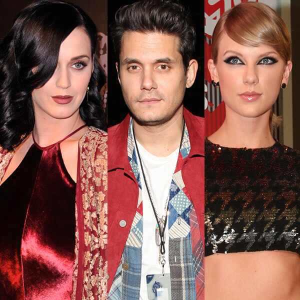 Katy Perry, John Mayer, Taylor Swift