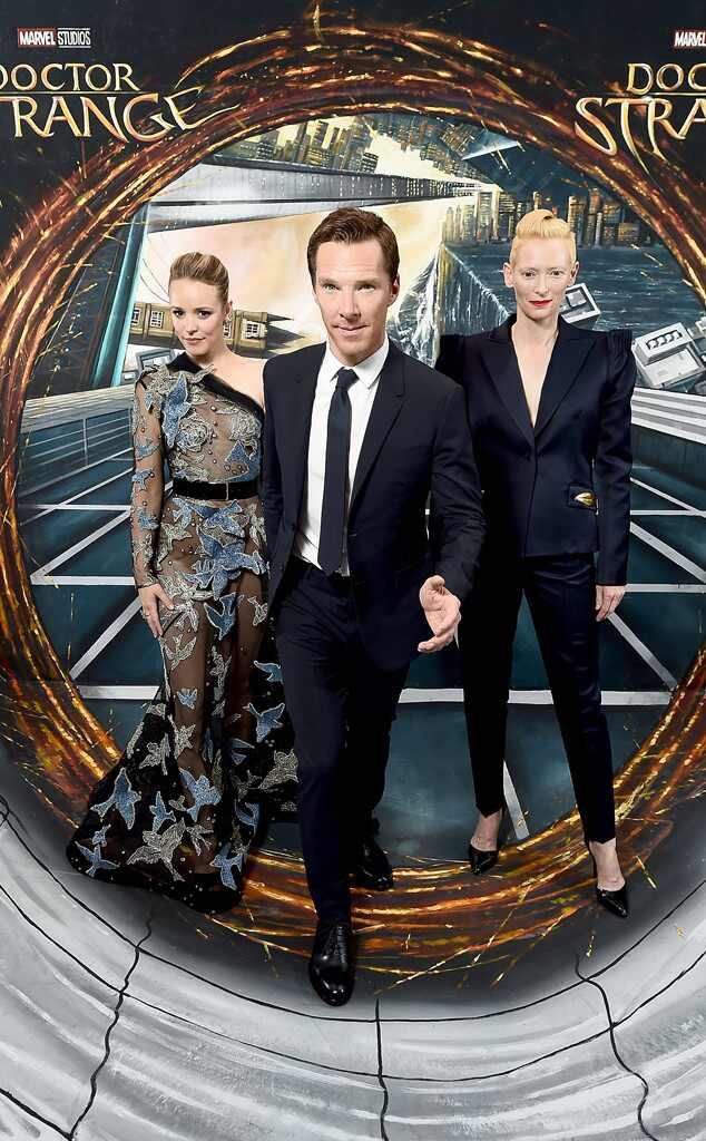 Rachel McAdams, Benedict Cumberbatch, Tilda Swinton