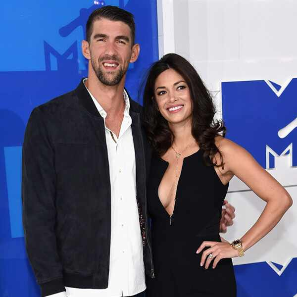 Michael Phelps, Nicole Johnson, 2016 MTV VMAs