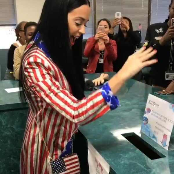 Katy Perry, Snapchat, Voting