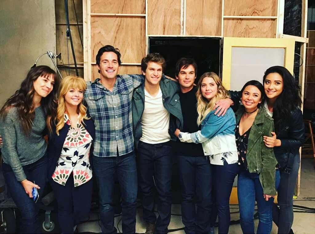 Pretty Little Liars Cast, Instagram