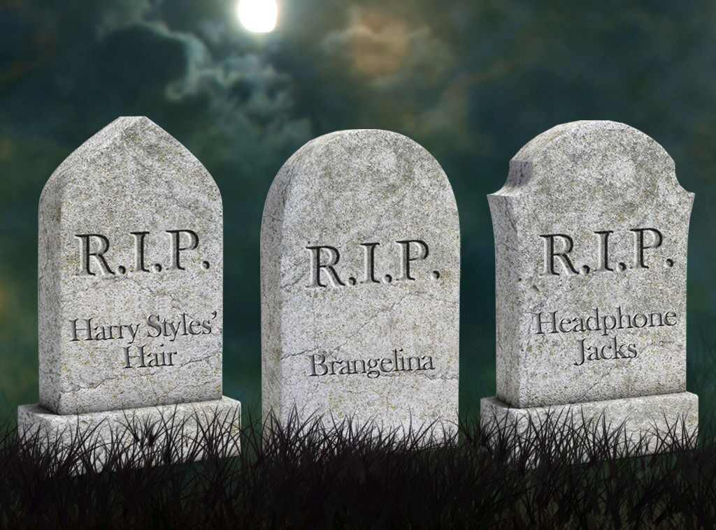 Rip Here Lies Everything That S So Over In 2016 E News