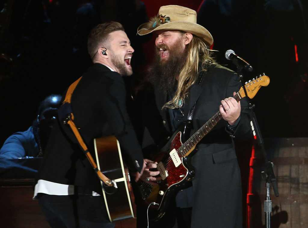 12 unforgettable moments from the cma awards to get you for Justin timberlake chris stapleton drink you away