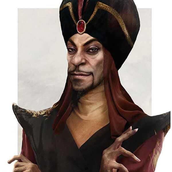 Realistic Disney Villains