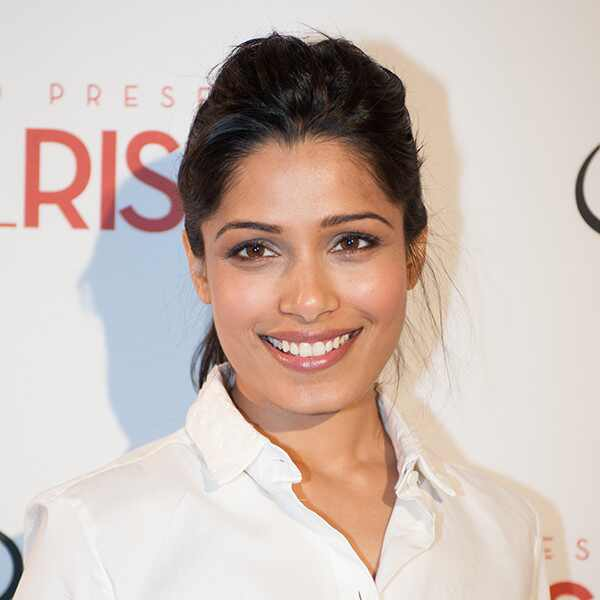 Why Freida Pinto Is Committed to Making the World a Better Place for Women | E! News Freida Pinto