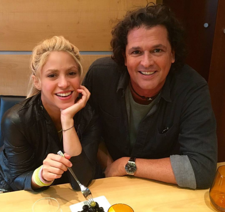 De esta manera Carlos Vives se reivindicó con Shakira (Fotos + Video)