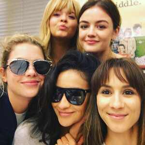 Lucy Hale, Troian Bellisario, Ashley Benson, Shay Mitchell, Sasha Pieterse, Pretty Little Liars
