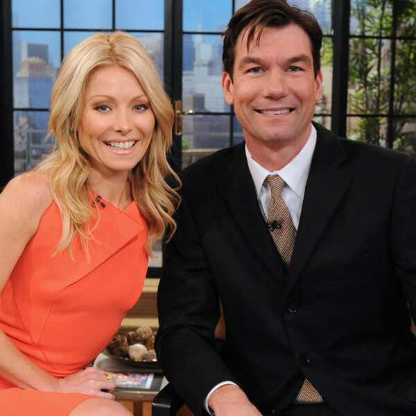Kelly Ripa, Jerry O'Connell, Live with Kelly