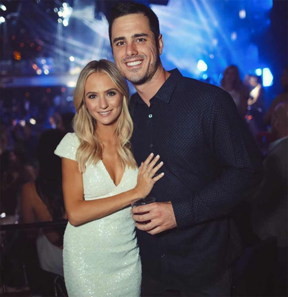 ?Image: Ben Higgins and Lauren Bushnell