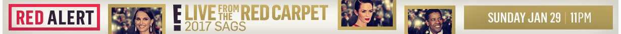 UK SAG Awards show banner