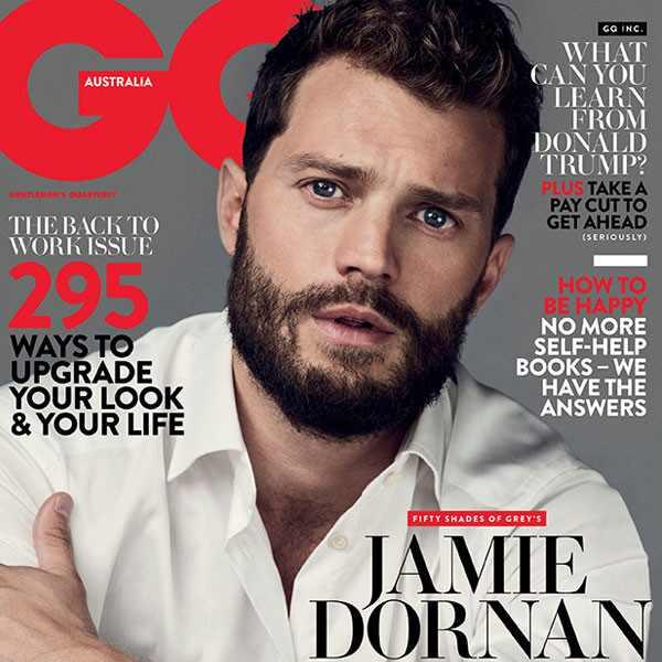 Jamie Dornan, GQ Australia