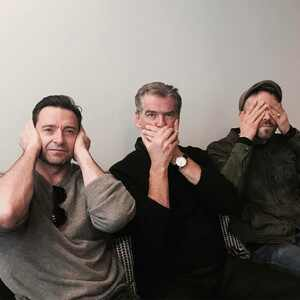 Hugh Jackman, Pierce Brosnan, Ryan Reynolds
