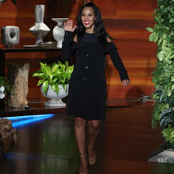 Kerry Washington, The Ellen DeGeneres Show