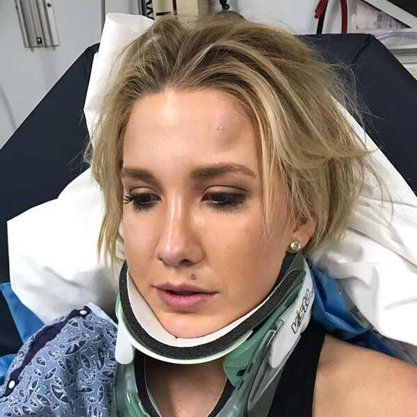 Savanah Chrisley, Car Accident