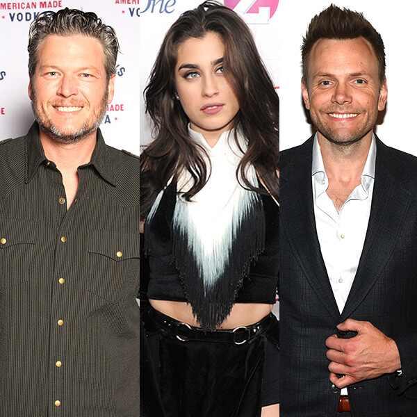 Blake Shelton, Fifth Harmony, Joel McHale