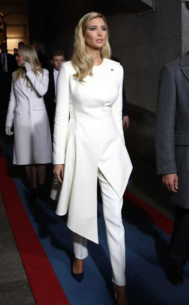 Ivanka Trump, Inauguration Fashion
