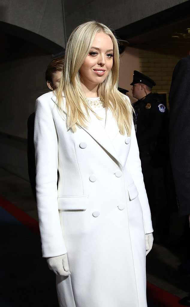Tiffany Trump, Inauguration Fashion