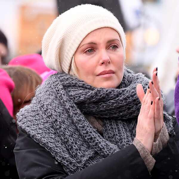 Women's March, Charlize Theron