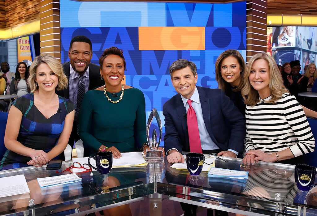 Good Morning America Photos : Inside michael strahan s first months at good morning