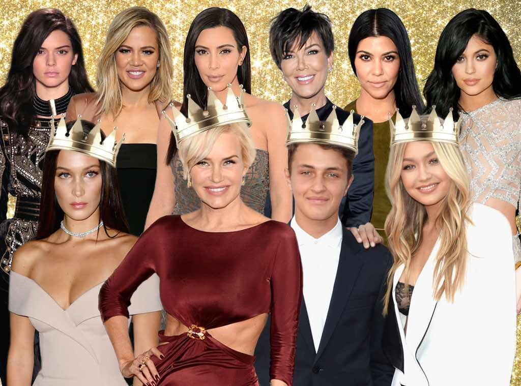 The hadids versus the kardashians a family face off e news for Living with the kardashians full episodes