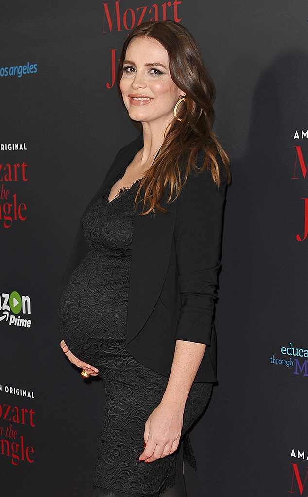 Law Dan Order's Saffron Burrows Gives Birth To A Baby Girl