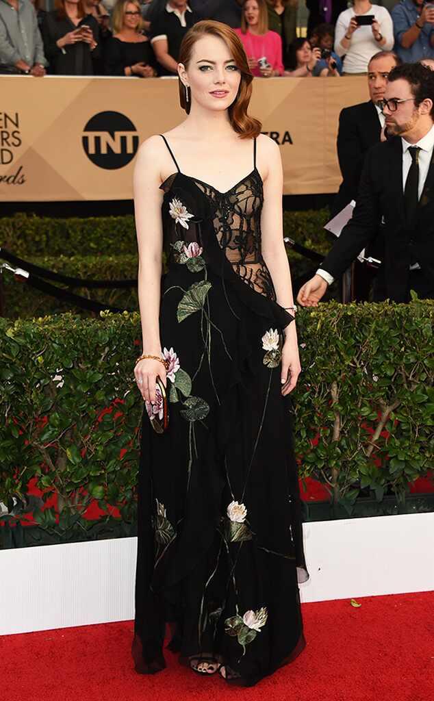 Emma Stone, 2017 SAG Awards, Arrivals
