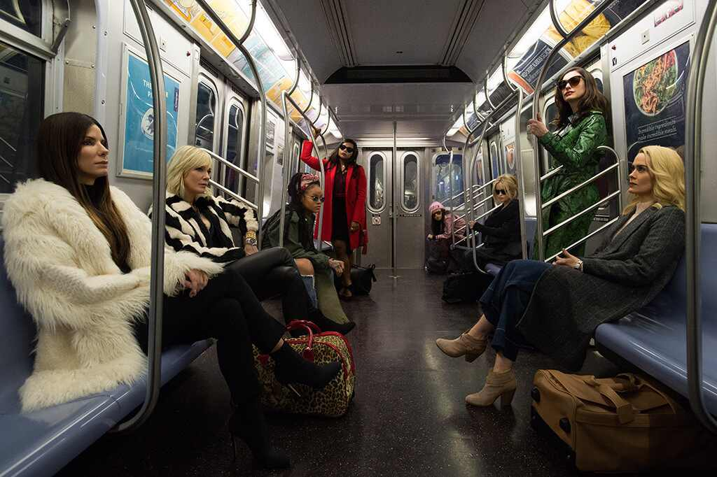 See the first official photo of the all-female Ocean's 8
