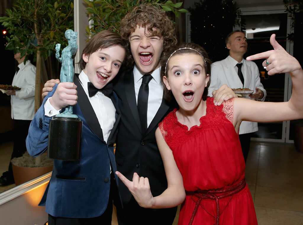 Noah Schnapp, Gaten Matarazzo, Millie Bobby Brown, Stranger Things Kids