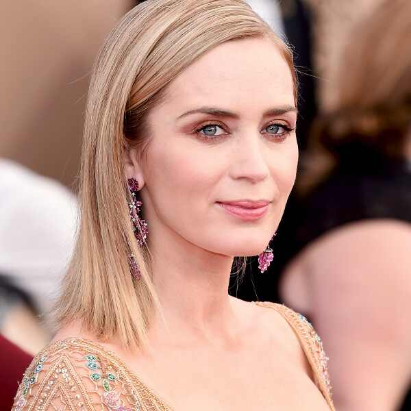 ESC: SAG Awards, Beauty, Emily Blunt, (post)