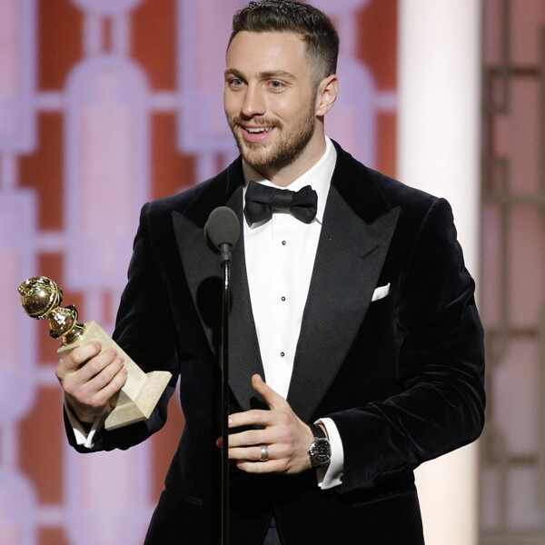 Aaron Taylor-Johnson, 2017 Golden Globes, Winners