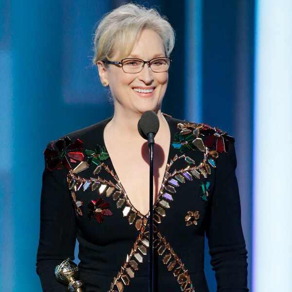 Meryl Streep, 2017 Golden Globes, Cecil B. DeMille Award