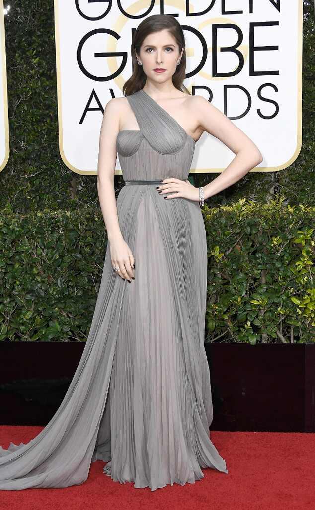 Anna Kendrick, 2017 Golden Globes, Arrivals