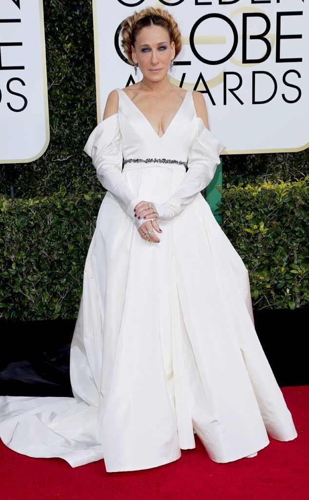 Sarah Jessica Parker, 2017 Golden Globes, Arrivals