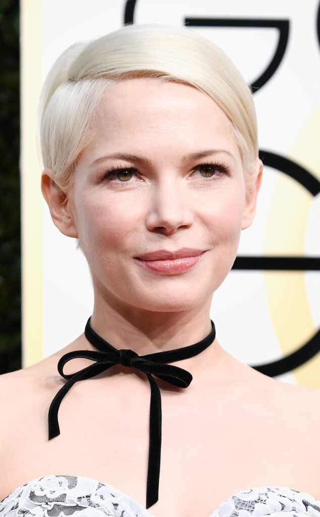 ESC: Best Beauty, Golden Globes 2017, Michelle Williams