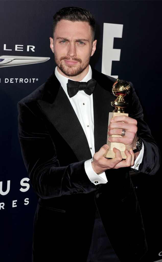 Golden Globe 2017: Tom Ford e i basettoni di Aaron Taylor ...