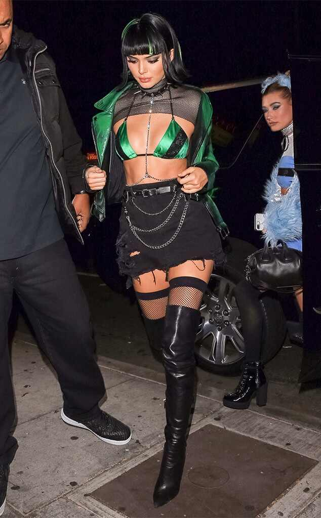 Kendall Jenner, 2017 Halloween