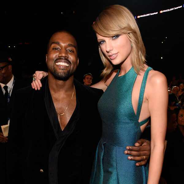 Kanye West, Taylor Swift, Grammy Awards, Candids