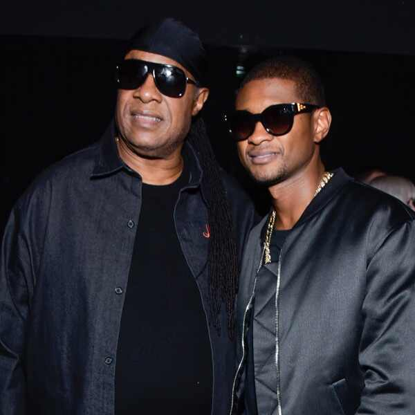 Usher, Stevie Wonder