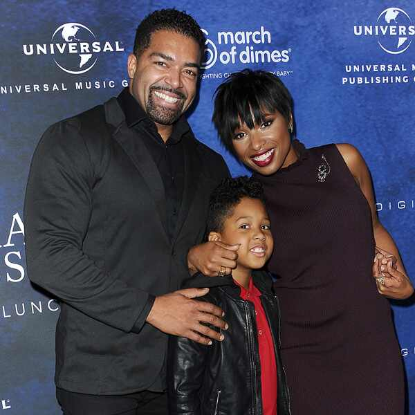 David Otunga, Jennifer Hudson, David Otunga Jr.