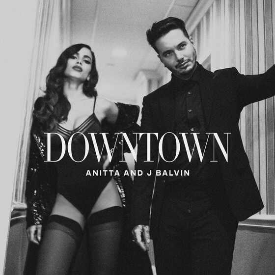 Anitta, Luis Fonsi, Downtown