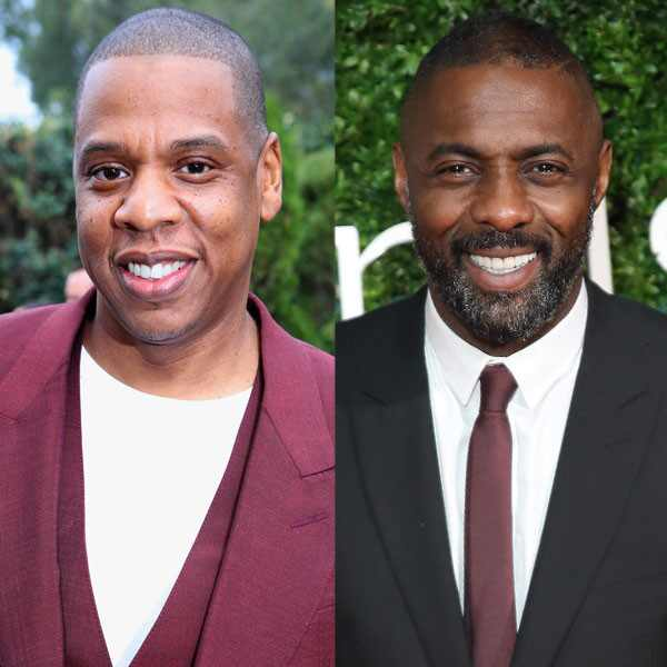 Jay Z, Idris Elba